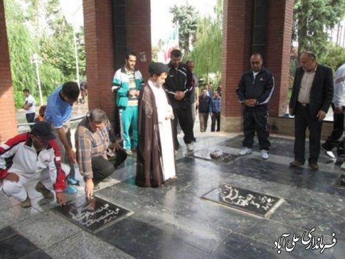همایش پیاده روی بزرگ خانوادگی در علی آبادکتول برگزار شد