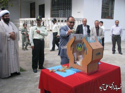 جشن عاطفهها در مدارس علی آباد کتول برگزارشد