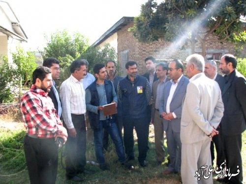 فرمانداراز روند اجرای طرح سرشماری عمومی کشاورزی بازدید کرد