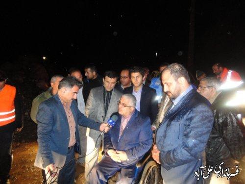 بازدید اعضای کمیسیون برنامه و بودجه مجلس از دهنه محمدآباد