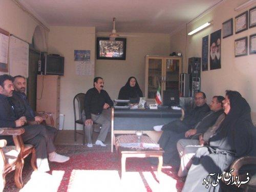 بازدید فرماندار علی آباد کتول ازمرکز ترک اعتیاد