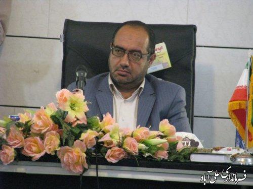 جلسه ستاد گراميداشت 13 آبان در فرمانداری شهرستان علی آباد کتول برگزار شد