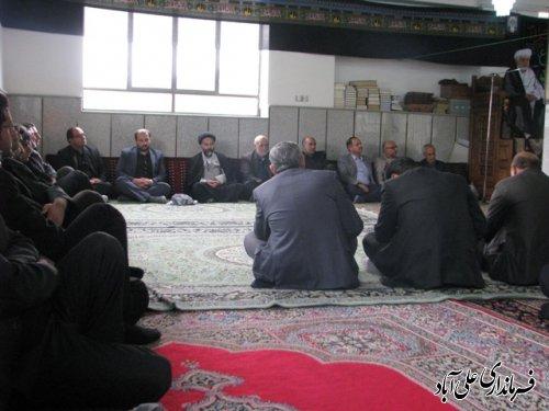 آیین سنتی علم بندان درعلی آباد کتول برگزار شد