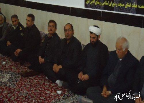 افتتاح مسجد روستای الامن همزمان باماه محرم