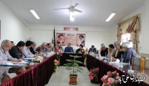 هفتمين جلسه شوراي آموزش و پرورش علی آباد کتول برگزار گرديد