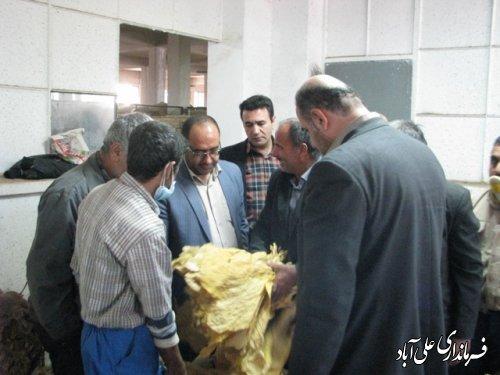 بازدید سرزده فرماندار علی آباد کتول ازادارات شهرستان