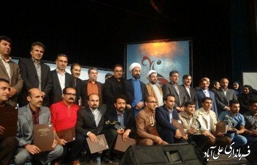درخشش خبرنگار علی آبادی در جشنواره مطبوعات غرب کشور