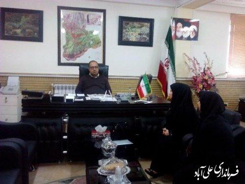 ملاقات مردمی فرماندار شهرستان علی اباد کتول برگزار شد
