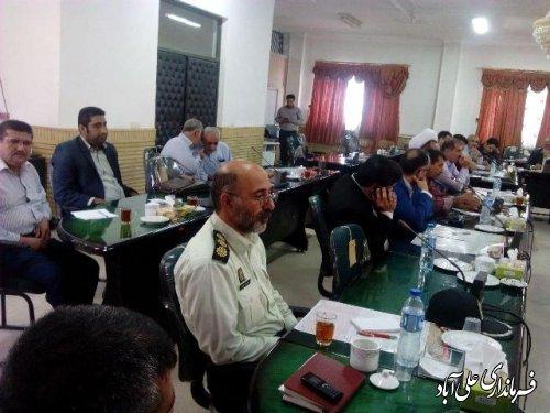جلسه شورای هماهنگی تبلیغات اسلامی گرامیداشت هفته دفاع مقدس برگزار شد