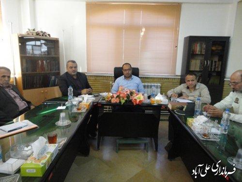 جلسه ساماندهی اموراتباع بیگانه شهرستان علی آبادکتول برگزارشد