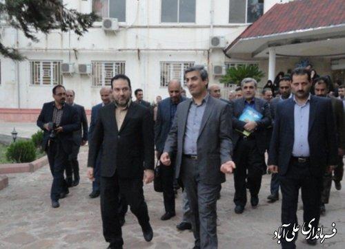 بازدیدمعاونان وزیر بهداشت از حوزه سلامت شهرستان علی آباد کتول