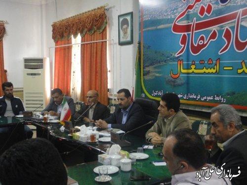 دیدار ورزشکاران شهرستان با فرماندار علی آباد کتول