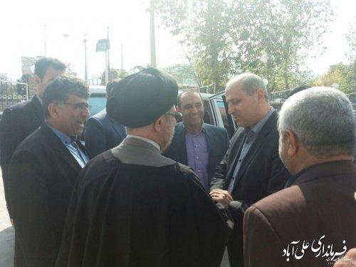 بازدید سرزده استاندار گلستان از بخشداری کمالان