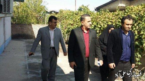 جلسه انجمن کتابخانه عمومی شهر مزرعه شهرستان علی آباد برگزارشد