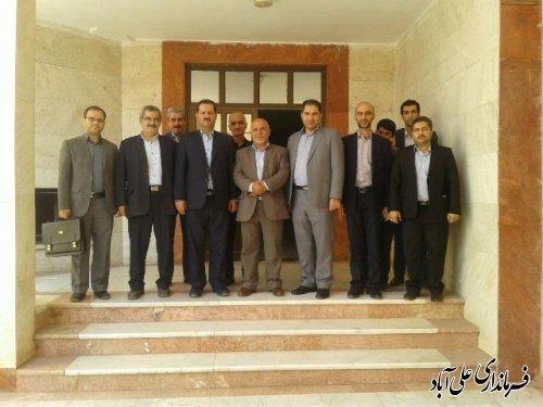 بازدید فرماندار از دانشگاه سما علی آباد کتول