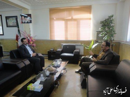 ملاقات هفتگی فرماندار علی آباد کتول با مردم  برگزارشد