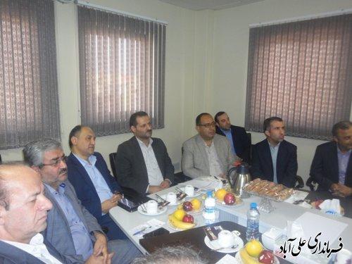 جلسه پدافند غیر عامل در نیروگاه برق علی آباد کتول برگزارشد