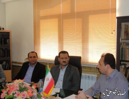 جلسه شورای ترافیک شهرستان علی آباد کتول برگزارشد
