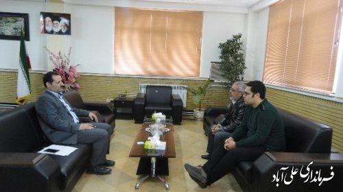 ملاقات هفتگی فرماندار با شهروندان شهرستان علی آباد کتول برگزارشد