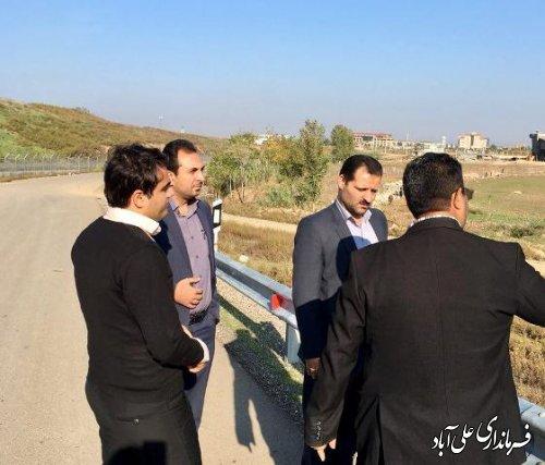فرماندار علی آباد کتول از پروژه های آبرسانی روستایی بازدید کرد