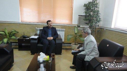 ملاقات عمومی فرماندار با مردم شریف شهرستان علی آباد کتول
