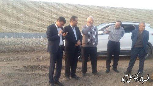 بازدید فرماندار علی آباد کتول و مدیرعامل شرکت گاز از کشتارگاه شرکت زرین طیور هیرکان