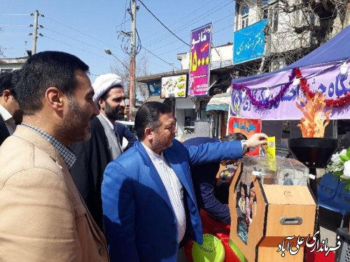 جشن نیکوکاری با حضور معاون فرماندار علی آباد کتول برگزار شد