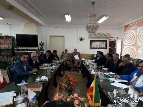دومین جلسه ستاد خدمات سفر شهرستان علی آباد کتول برگزارشد
