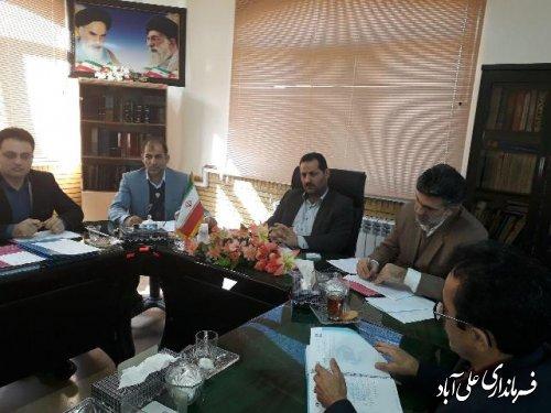 هشتمین جلسه کمیته فنی اشتغال شهرستان علی آباد کتول برگزارشد