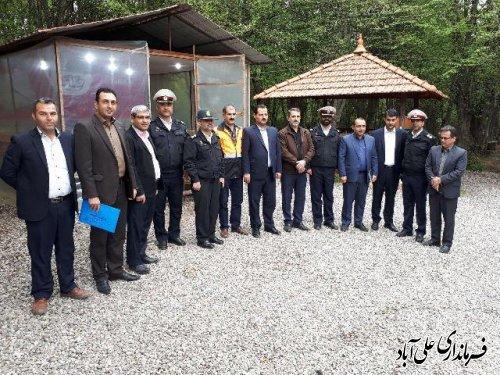 اولین جلسه شورای ترافیک  سال جدید شهرستان علی آباد کتول برگزارشد