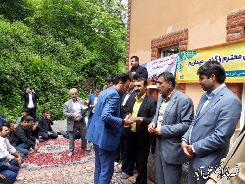 تجلیل از کارگران شهرداری با حضور فرماندار علی آباد کتول
