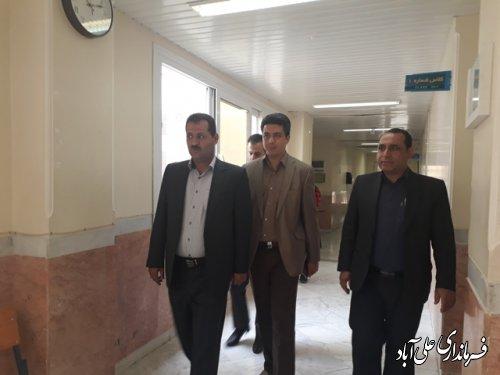 بازدید فرماندار از دانشکده فنی مهندسی علی آباد کتول