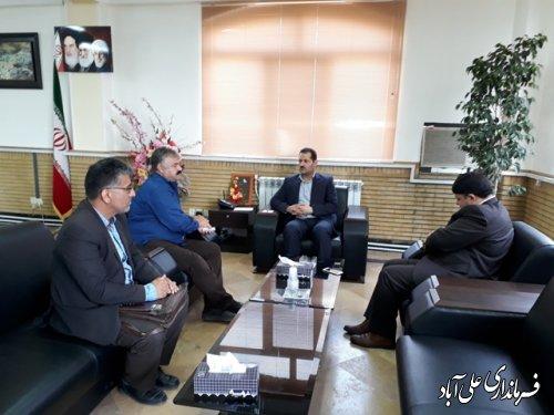 ملاقات مردمي فرماندار شهرستان علی آباد کتول برگزار شد