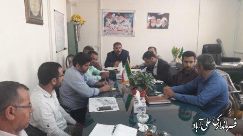 دیدار ریاست بنیاد مسکن علی آباد کتول با بخشدار مرکزی