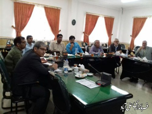 جلسه انجمن کتابخانه های عمومی شهرستان علی آباد برگزار شد