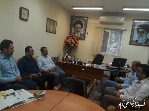 بازدید سرزده فرماندار علی آباد کتول از ادارات
