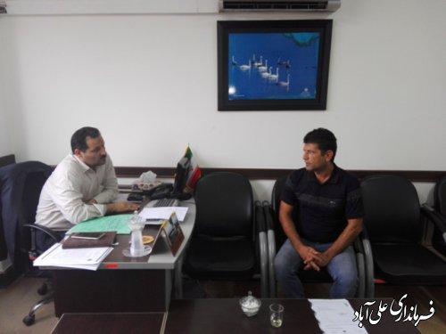 ملاقات مردمی فرماندار شهرستان علی آباد کتول برگزار شد