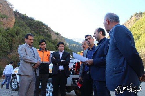 بررسی مشکلات اجرای پروژه های گازرسانی شهرستان علی آباد کتول بررسی شد