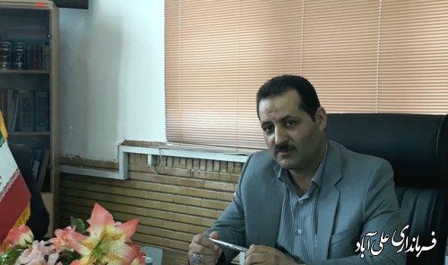 پیام تبریک فرماندار علی آباد کتول به مناسبت روز خبرنگار