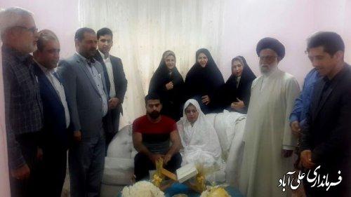 بازدید فرماندار علی آباد کتول از دفتر خانه ازدواج
