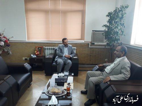 ملاقات عمومی هفتگی فرماندار شهرستان علی آباد کتول با مردم شریف شهرستان برگزار شد