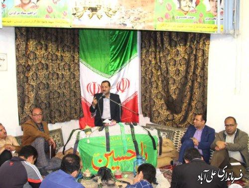 برگزاری یادواره شهدای سیاه مرزکوه با حضور فرماندار علی آباد کتول