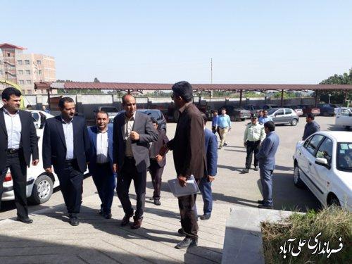 بازدید اعضای کمیسیون تحقیقات و پژوهش مجلس شورای اسلامی از مراکز آموزشی علی آباد کتول
