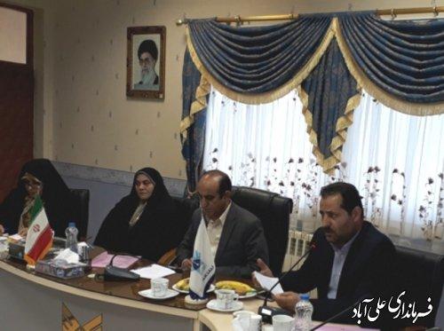 جلسه اعضای کمیسیون تحقیقات و پژوهش مجلس شورای اسلامی در دانشگاه آزاد علی آباد کتول