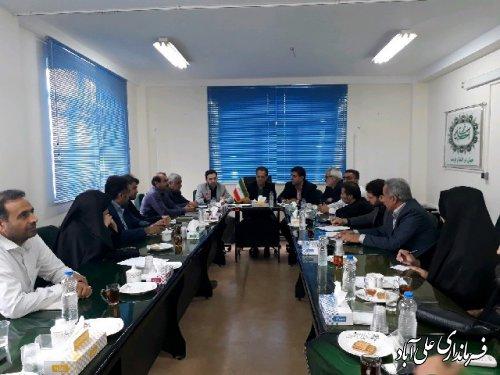 جلسه شورای سالمندی علی آباد کتول برگزارشد
