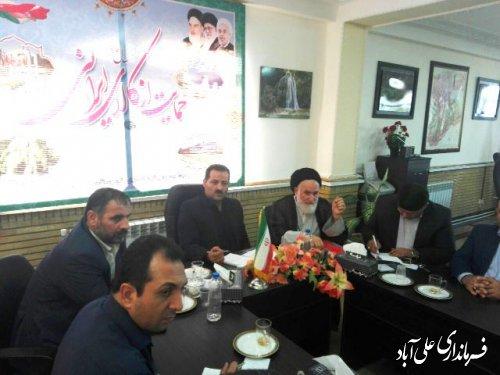جلسه شورای ترافیک فرمانداری علی آباد کتول برگزار شد