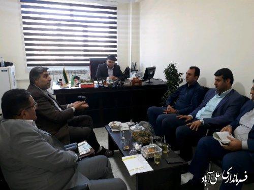 برگزاری جلسه کمیته حفاری شهرستان علی آباد کتول