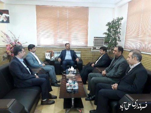آئین معارفه رئیس اداره میراث فرهنگی، صنایع دستی و گردشگری علی آباد کتول