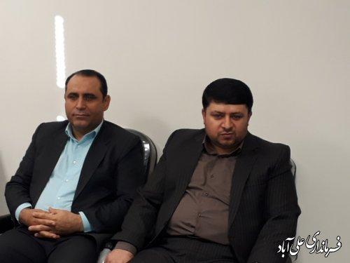 جلسه هماهنگی کمیته دهگردشی شهرستان علی آباد کتول برگزار شد
