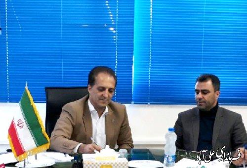 جلسه تفاهم نامه آموزش و پرورش با وزارت کشور در فرمانداری برگزارشد